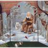 Мастер-класс по росписи: «Санта-Клаус и его друзья» + шаблоны рисунков