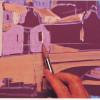 Урок рисования для новичков: средиземноморский вид (гуашь). Автор: Майкл Сендерс