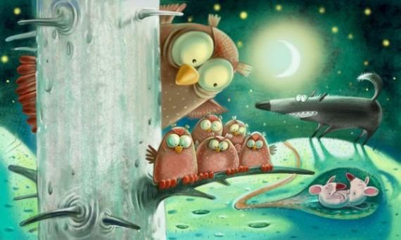 Яркий мир от Ирины Августинович (33 иллюстрации)