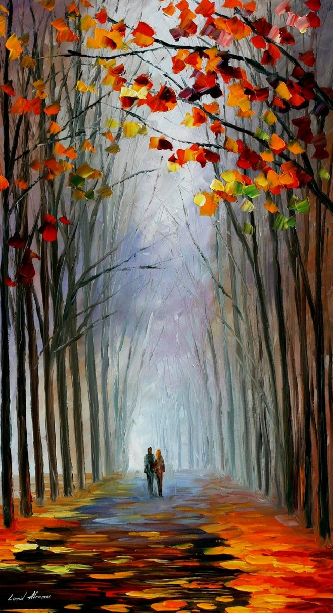 AUTUMN_FOG_new_LEONID_AFREMOV_by_Leonidafremov