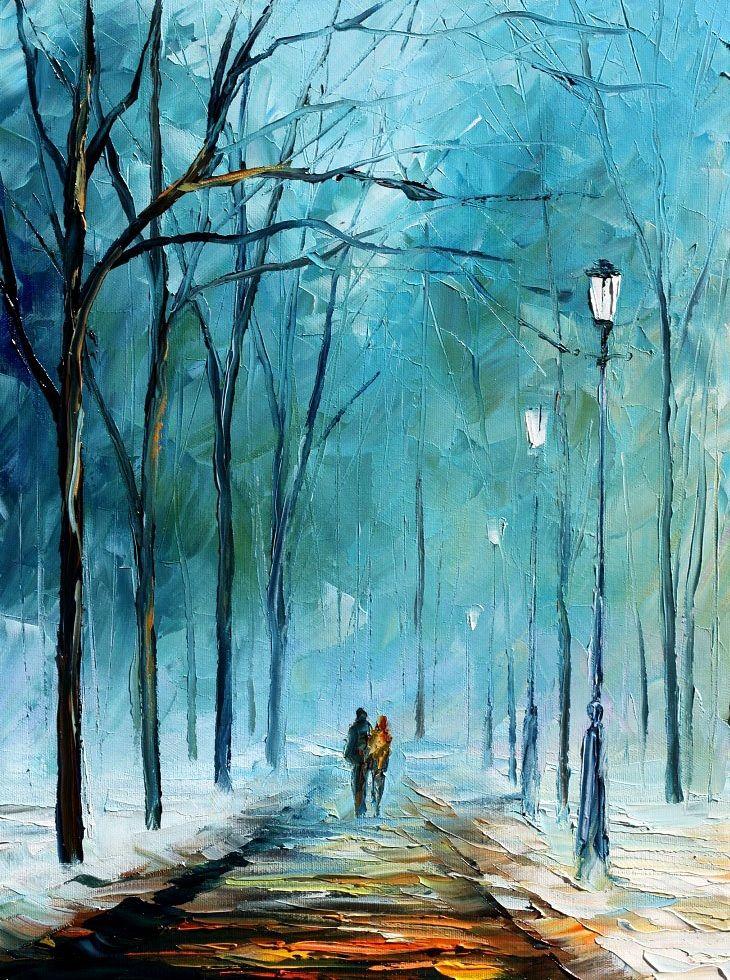 foggy_stroll___leonid_afremov_by_leonidafremov-d2zbl5q
