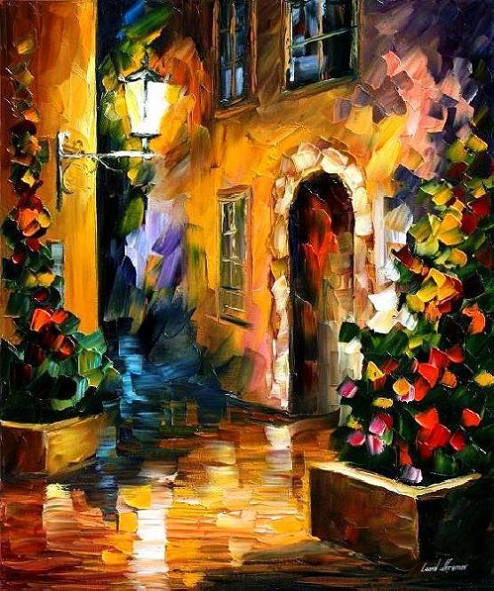 quiet_town____leonid_afremov_by_leonidafremov-d2y9e7t