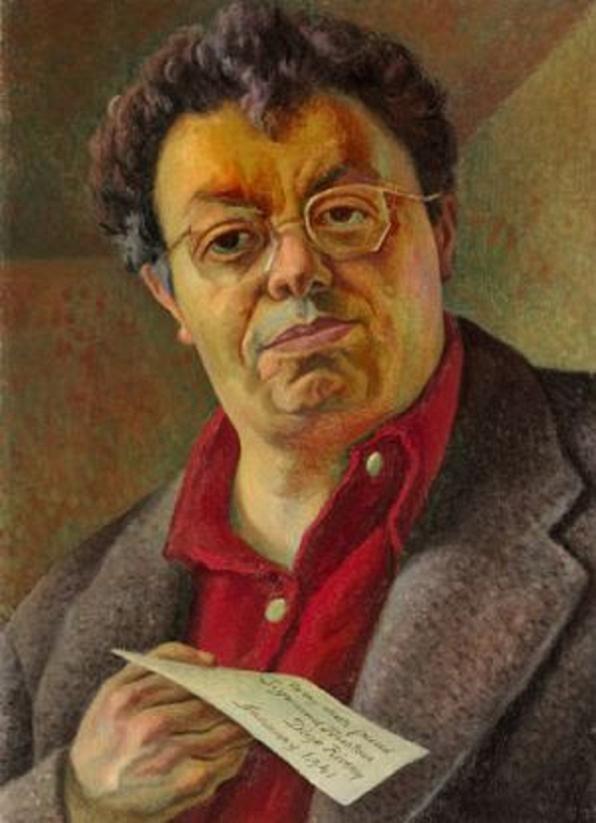 Познавательно о живописи: Рокфеллер, Диего Ривера и настенная фреска