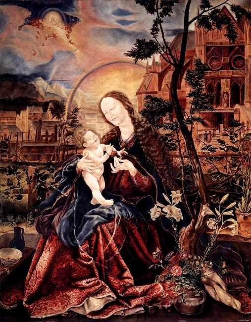 Мадонна с Младенцем. 1517-19