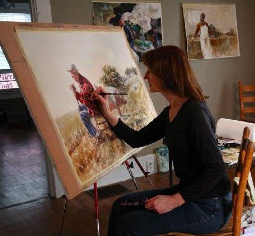 Секреты успеха художницы Mary Whyte