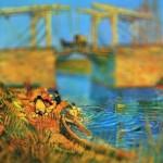 Картины Ван Гога с эффектом tilt-shift