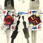 Иллюстрации Дали к Алисе в стране Чудес