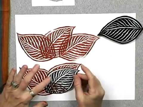 Урок работы со штампами Gloria Page
