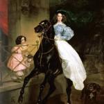 «Всадница» — картина русского художника Карла Брюллова