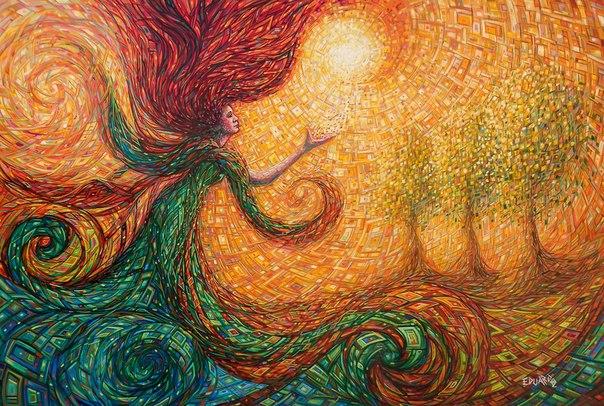Гремучая мексиканская смесь от художника Eduardo Rodriguez Calzado