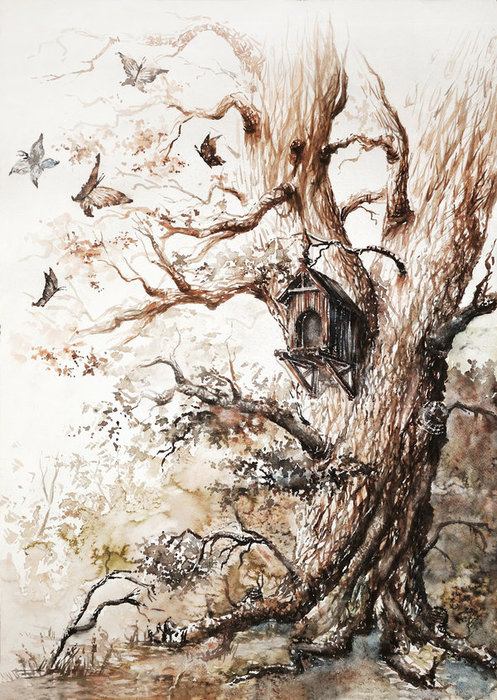 butterflies_tree_by_haunted_tower-d2yztvn (497x700, 146Kb)