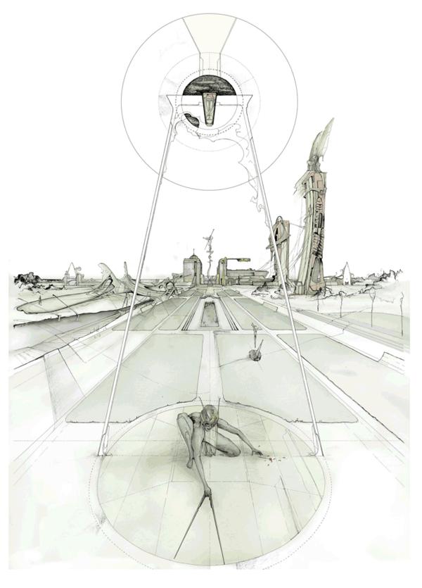 Архитектурные абстракции Dan Slavinsky