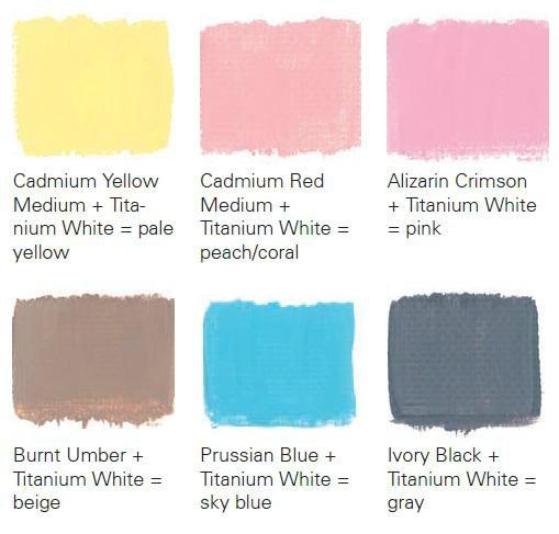 Как сделать розовую краску фото 62