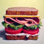 Как нарисовать бутерброд маслом: пошаговый мастер-класс