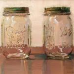 Dianne Massey Dunbar: стекло маслом