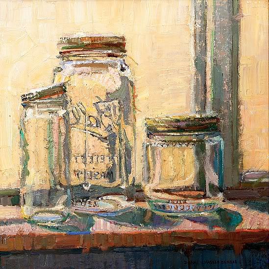 Dianne Massey Dunbar:  выразительное стекло маслом