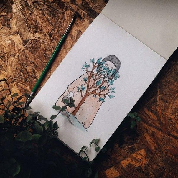 картинки Татьяны Самошкиной