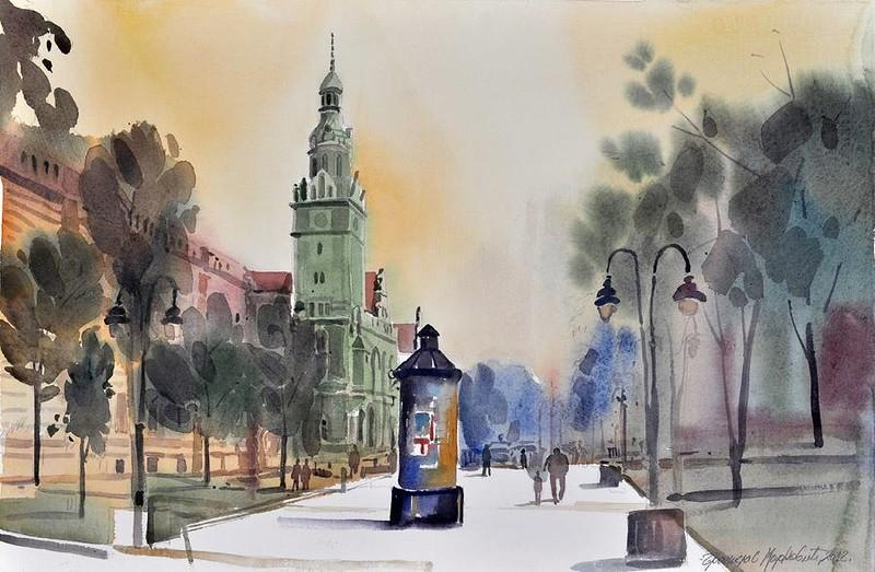 Apatin, centar grada