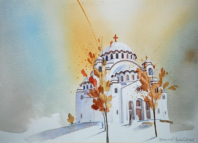 Hram Sv. Save na Vračaru, Belgrad