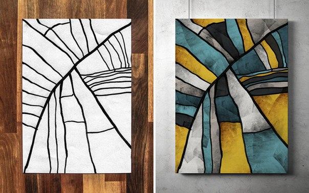 Каракули или искусство? Творческий дуэт Додд
