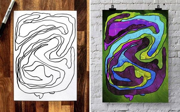 детское абстрактное искусство
