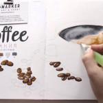 Видеоурок: как рисовать акварельными маркерами