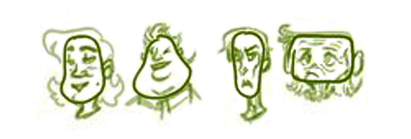 Как избежать одинаковых лиц при рисовании персонажей