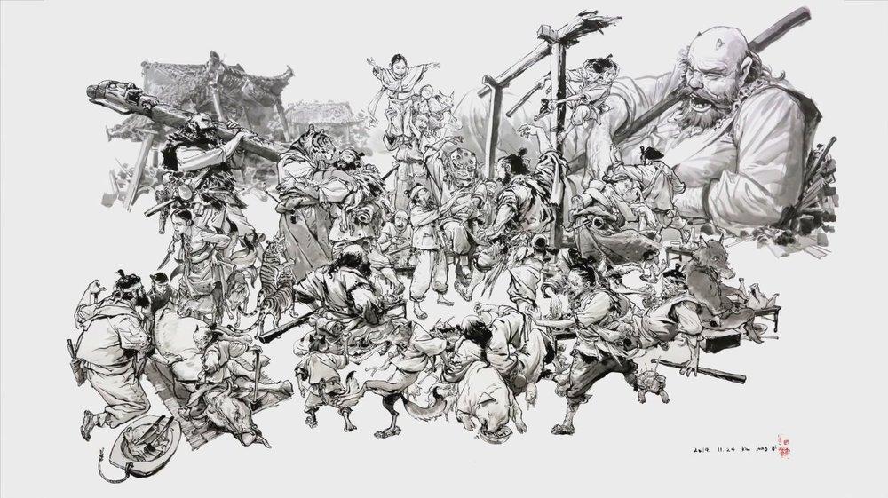 Ким Джун Ги, или кореец, который невероятно рисует.