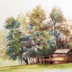 Мастер-класс на видео: рисуем пейзаж акварельными карандашами