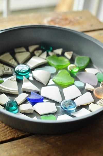 декоративные камни из цемента своими руками