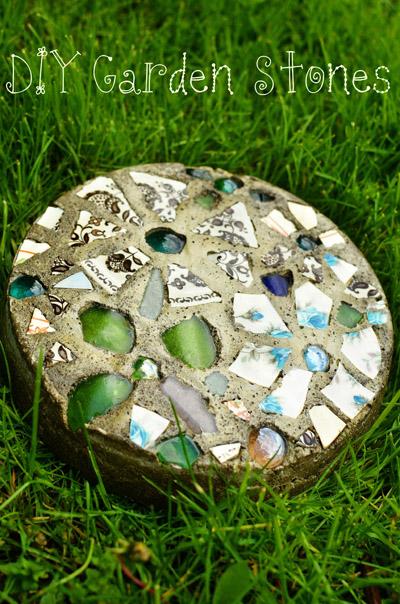 Как сделать декоративные камни с мозаикой