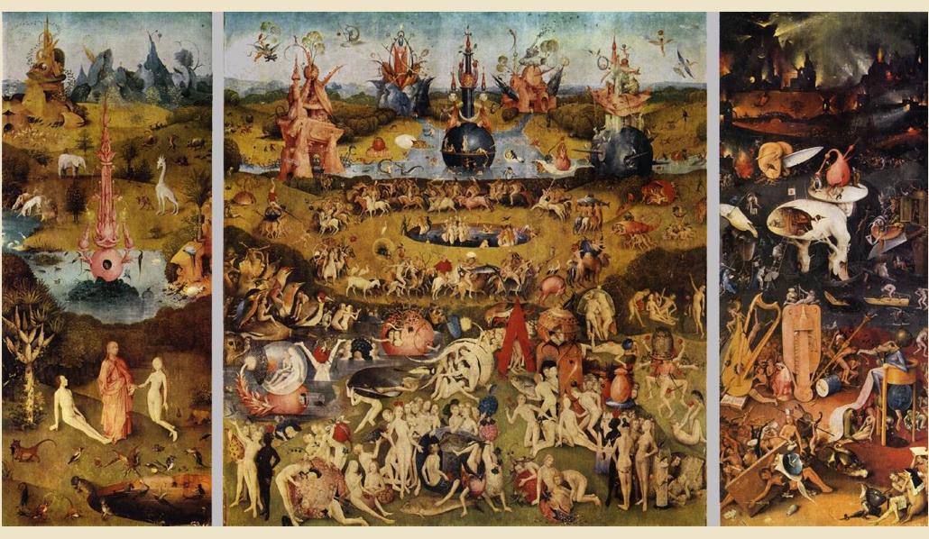 Hieronymus Bosch. Триптих «Сад земных наслаждений»