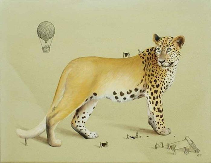 Животные на рисунках Ricardo Solis