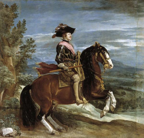 Веласкес. Портрет короля Филиппа IV на коне