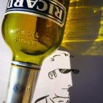 клёвый рисунок из фотографии бутылки