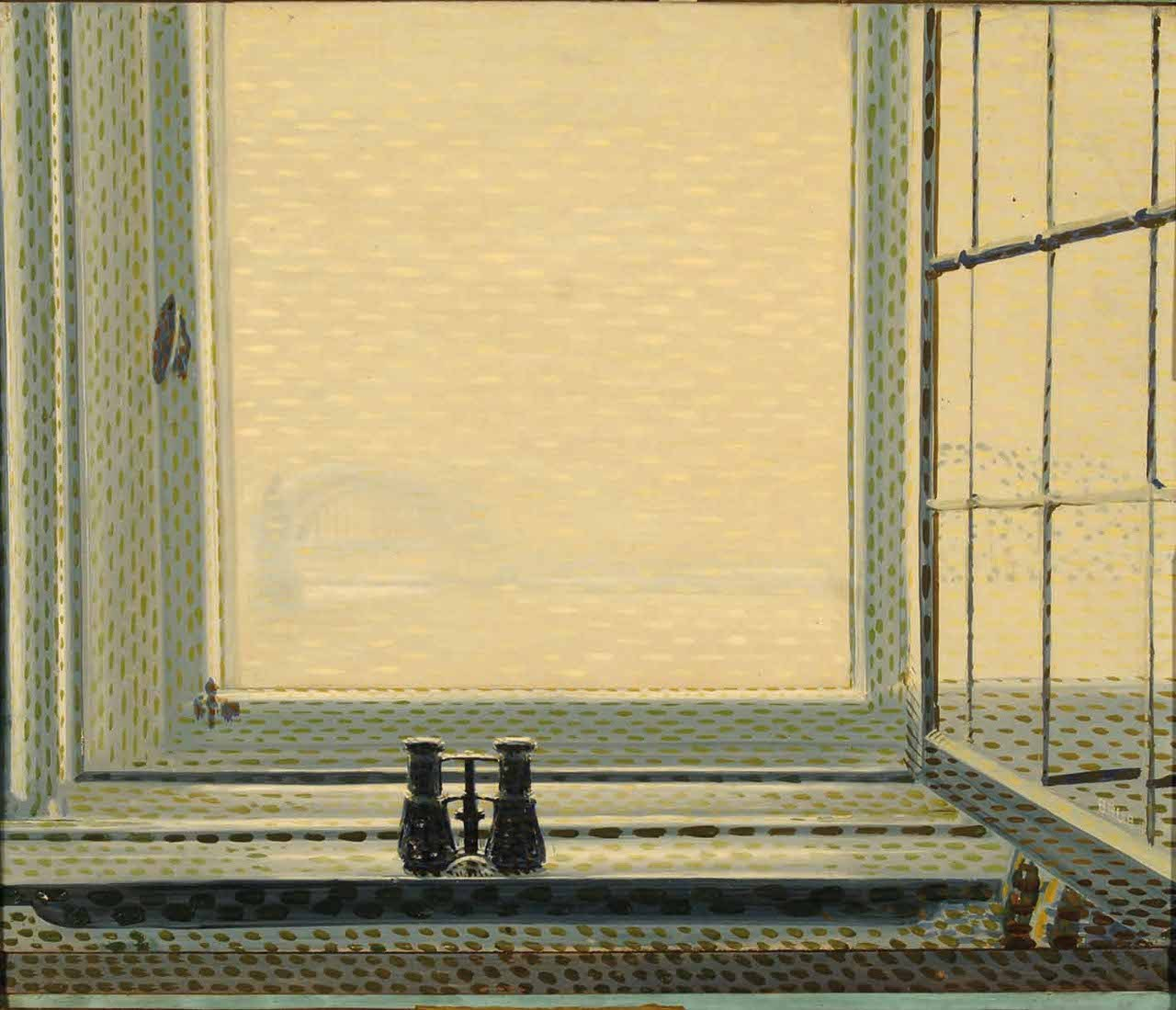 Window at Dusseldorf, Giacomo Balla 1912